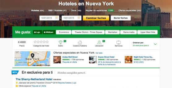 TripAdvisor lanza recomendaciones personalizadas a través de la funcionalidad 'En Exclusiva para ti'