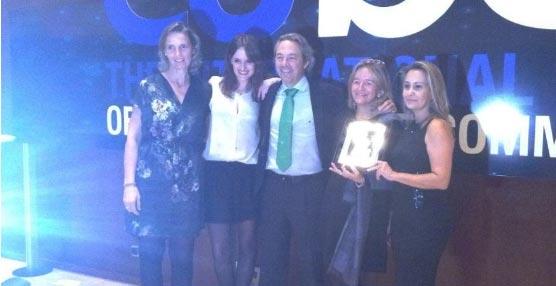 El Grupo Sörensen recibe el segundo premio en la categoría de Mejor Convención en los Premios EUBEA 2014