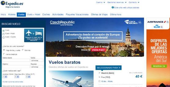Expedia permitirá acceder a los servicios complementarios de las aerolíneas gracias a su alianza con Amadeus