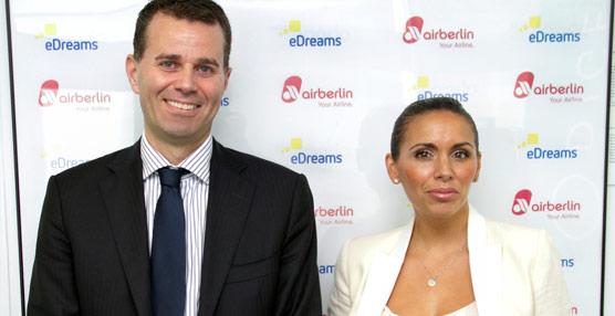 eDreams y airberlin estrechan su relación comercial para fortalecer su posición en el mercado español