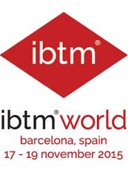 La próxima edición de la EIBTM, que pasa a llamarse IBTM World, se celebrará del 17 al 19 de noviembre de 2015