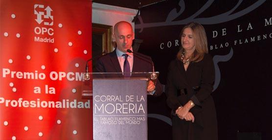 OPC Madrid celebra su 29 aniversario reconociendo el trabajo del Hotel Meliá Avenida de América y de chef David Muñoz