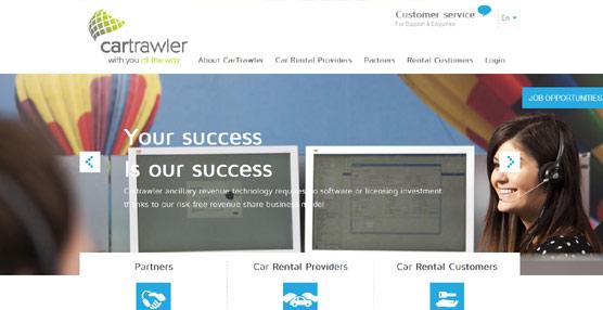 CarTrawler permitirá a los agentes ofrecer más opciones de transporte terrestre a través de Abacus ContentPlus