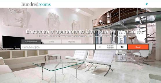 Se inaugura la plataforma Hundredrooms.com, 'el primer metabuscador de apartamentos turísticos'