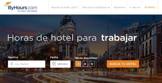 ByHours.com genera más de 150.000 transacciones de reservas de horas de hotel en 2014, gran parte motivadas por negocios