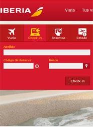 Iberia permite el 'check-in online' desde el mismo momento de la compra de sus billetes