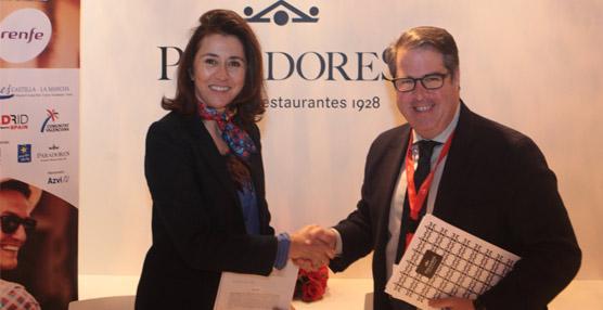 La Red de Ciudades AVE renueva su convenio de colaboración con Paradores de Turismo en el marco de Fitur