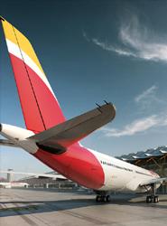 Los vuelos chárter reportan a Iberia un 12% más de ingresos durante 2014, con más de 1.000 operaciones
