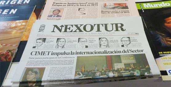 Las publicaciones del Grupo NEXO, presentes en una Exposición Internacional de Turismo de la ITB de Berlín