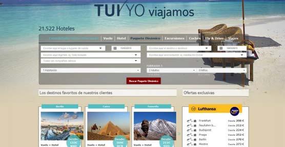 TUI Spain completa la renovación de su página web, apostando por el 'paquete' dinámico como segunda línea de producto
