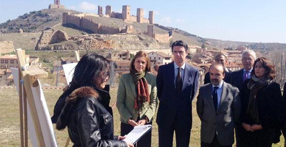 El ministro José Manuel Soria presenta en Guadalajara el proyecto del futuro Parador de Molina de Aragón