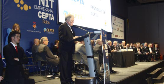 El Centro de Convenciones de PortAventura acoge la Nit Empresarial 2015 de CEPTA