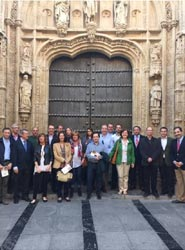 OPC España visita Córdoba para conocer las instalaciones de la ciudad para la organización de reuniones y eventos