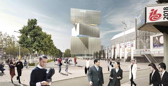 NH Hotel Group gana en Holanda el concurso para gestionar el nuevo hotel del recinto ferial Ámsterdam RAI