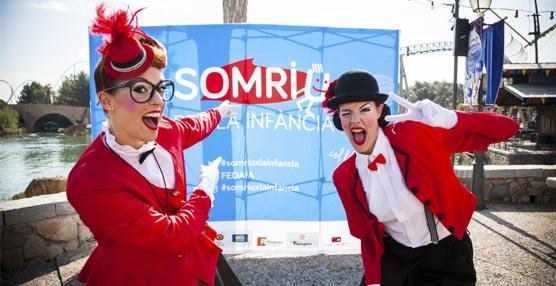 PortAventura Business & Events organiza, junto a FEDAIA, una fiesta con más de 3.000 niños
