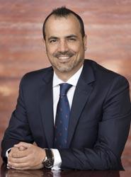 El nuevo director nacional de Halcón Eventos, Juan José Hernández.