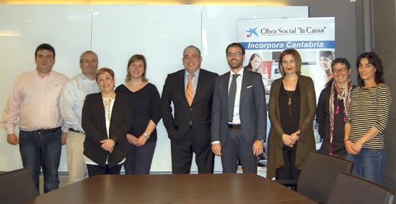 OPCE Cantabria y la asociación Cantabria Acoge fomentan la incorporación laboral de personas en riesgo de exclusión