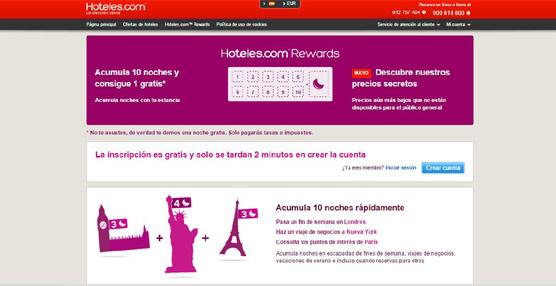 Hoteles.com presenta su nuevo programa de Precios Secretos y mejora su programa de fidelidad
