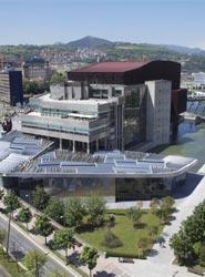 El Palacio Euskalduna de Bilbao.