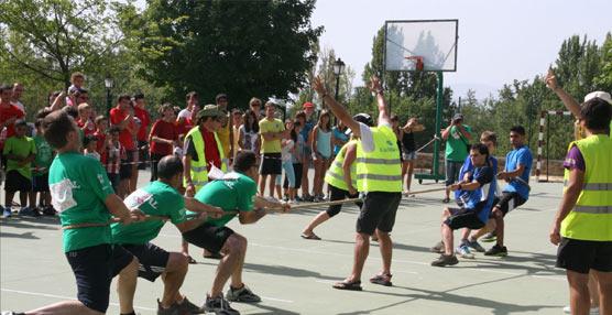 Arranca la cuarta edición de las Olimpiadas Rurales en Navaridas y Páganos, en La Rioja alavesa