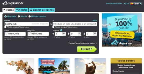 Julio ha sido esta temporada de verano el mes con más reservas de vuelos desde España, según Skyscanner