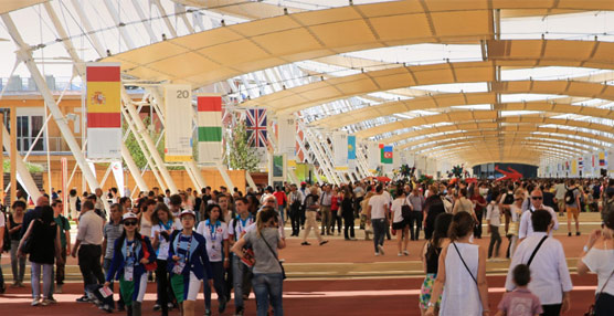 La celebración de la Expo se traduce en un aumento del 600% de las reservas para viajar a Milán, según eDreams