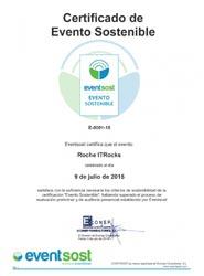 Un evento organizado por Quum Comunicación es certificado en materia de sostenibilidad