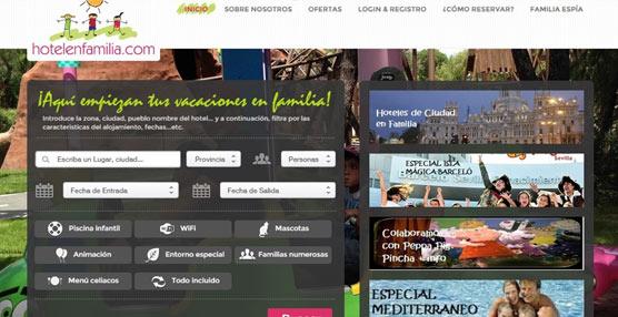 El portal especializado en turismo de familias Hotelenfamilia.com busca ampliar su cartera de hoteles adaptados para ellas