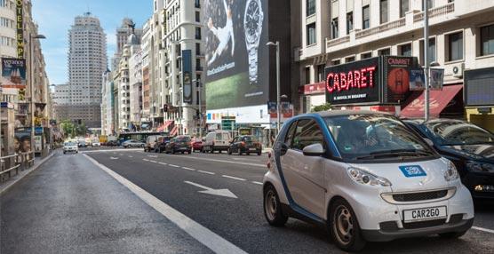 car2go ofrecerá a usuarios y empresas en Madrid su servicio de 'carsharing' con una flota de 500 vehículos eléctricos