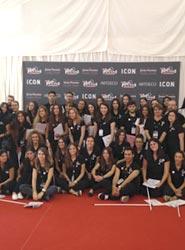 100 estudiantes de la Escuela Internacional de Protocolo participan en la organización de los Premios Platino
