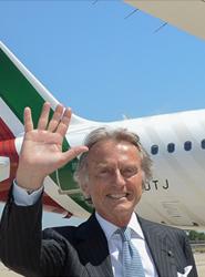 El presidente de Alitalia, Luca Cordero di Montezemolo.