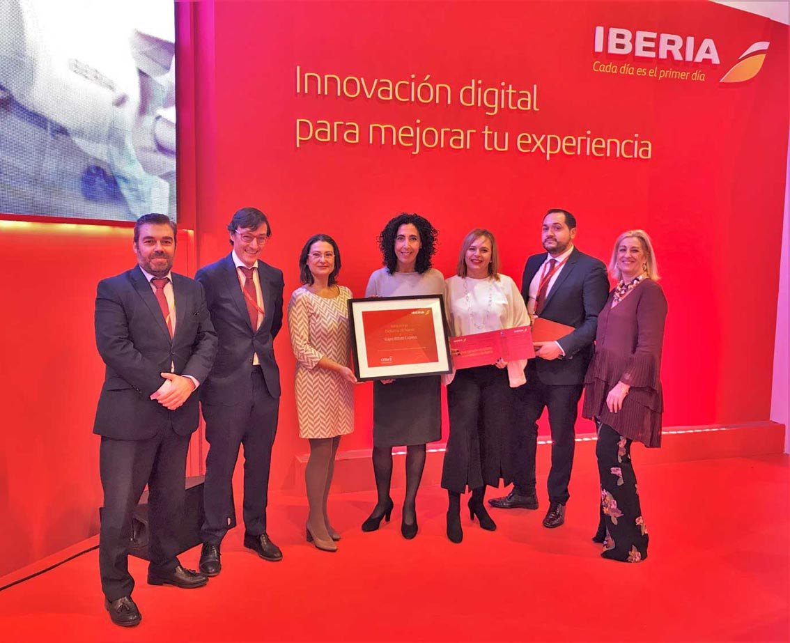 Dos agencias tag son reconocidas por iberia en fitur for Oficinas iberia express